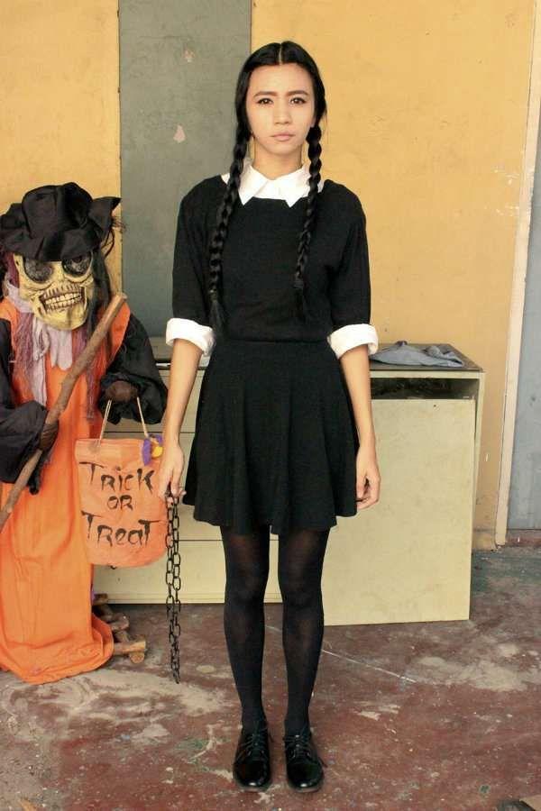 Deguisement Mercredi Addams 14 idées de déguisements diy faciles à réussir pour halloween