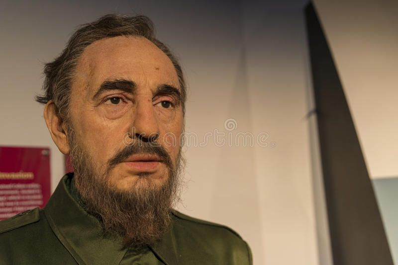 Fidel castro wax replica editorial stock image. Image of castro - 59829479
