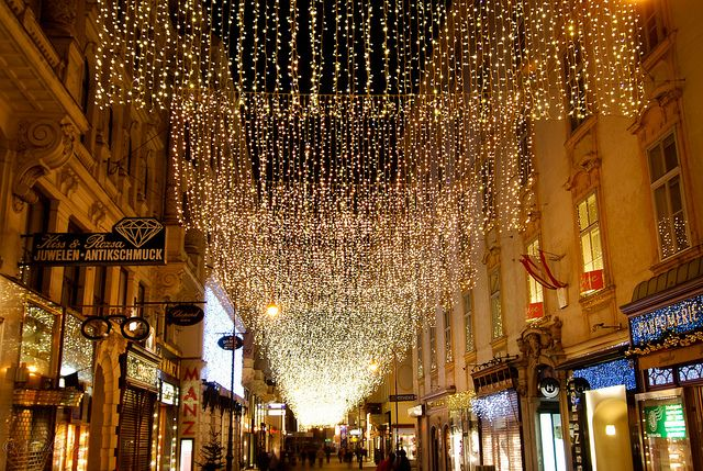 Street Lights Christmas 1 Street Light Lights Snow Light
