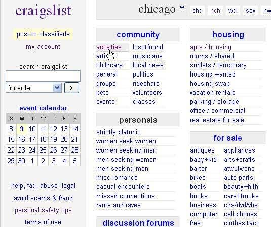 Do Your Craigslist Business At Elgin Police Lobby Furniture