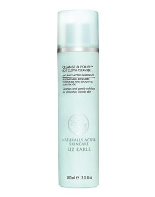 Liz Earle Cleanse Polish Hot Cloth Cleanser, 6.7 oz tube starter kit ...