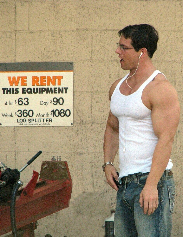 Clark Kent Equipment Rental At Home Depot Tight Shirt Male Model Photos Men