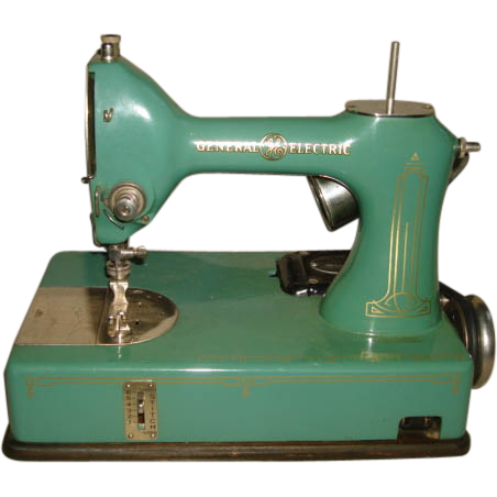 1930 s general electric ge sewhandy sewing machine pre singer rh pinterest com Brother Sewing Machine User Manual Old Sewing Machine Manuals