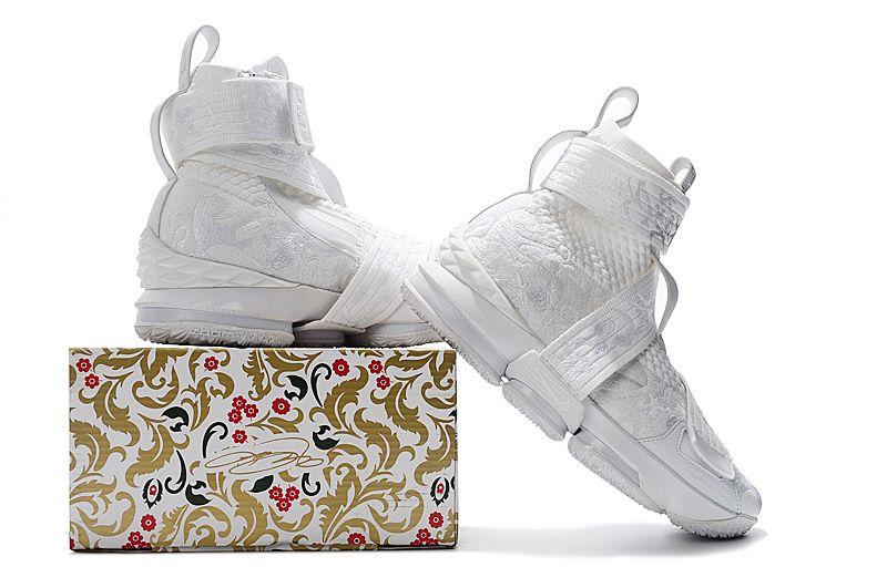 Purchase Kith x Nike LeBron 15 City of Angels Triple White Mens Basketball  Shoes 6 6e64d94997
