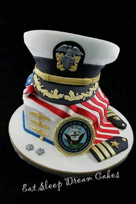 Us navy cake decorations military cake design military for Army cake decoration