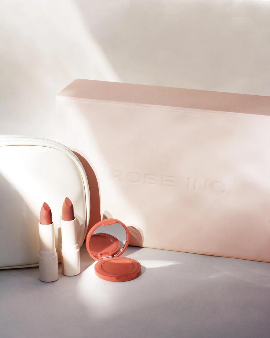 Rose Inc. x Sunnies Face OffDuty Kit Makeup routine