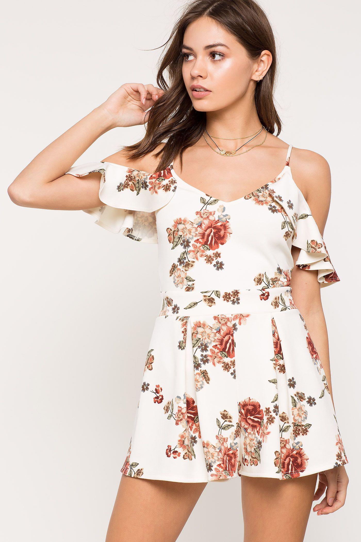 Women's Rompers | Fable Floral Romper | A'GACI