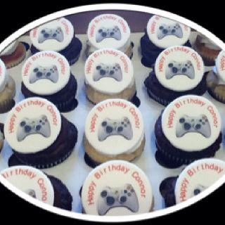 Video Game Cupcakes Cupcakes Baking Food
