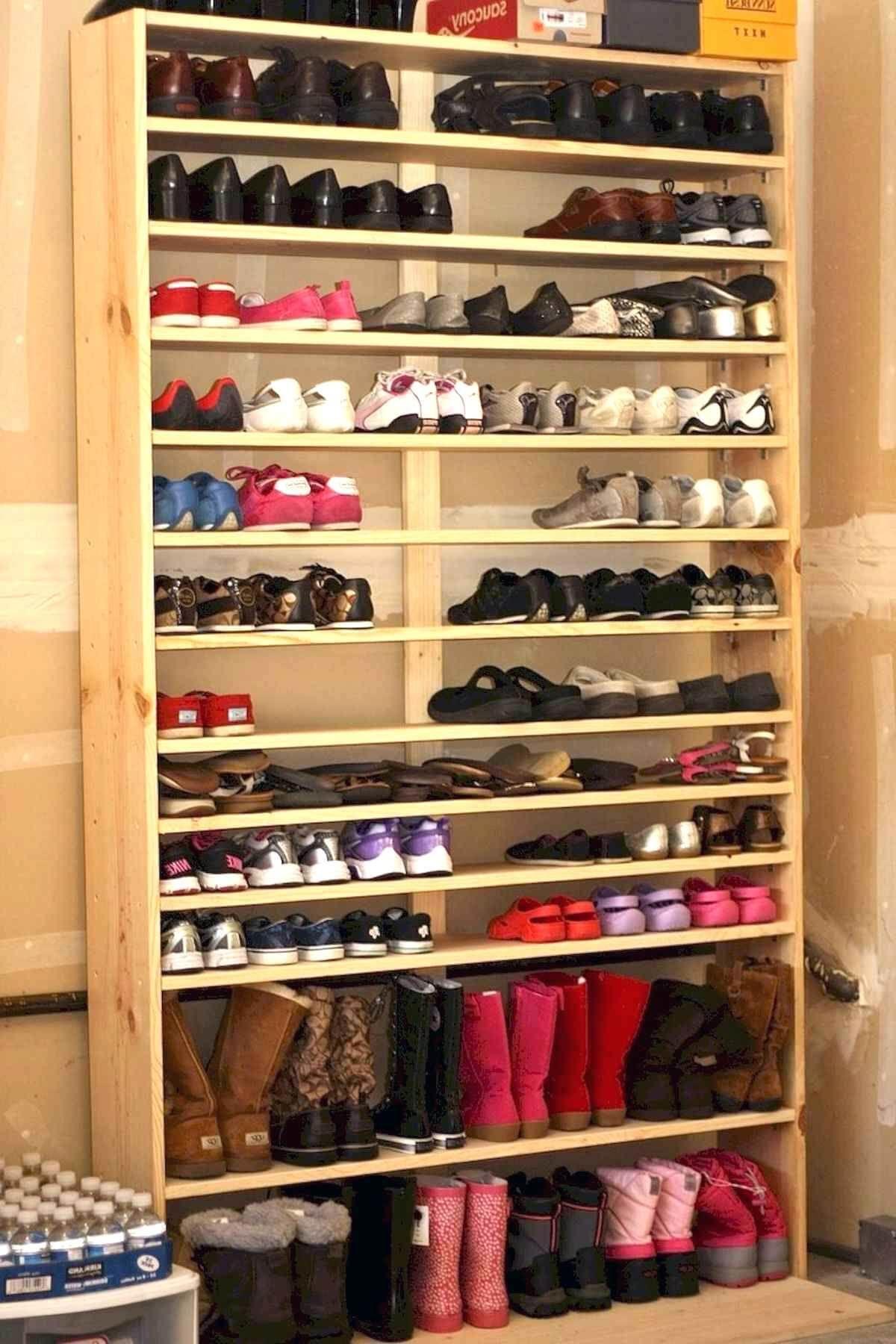 50 Creative Shoes Rack Design Ideas Garage Shoe Storage