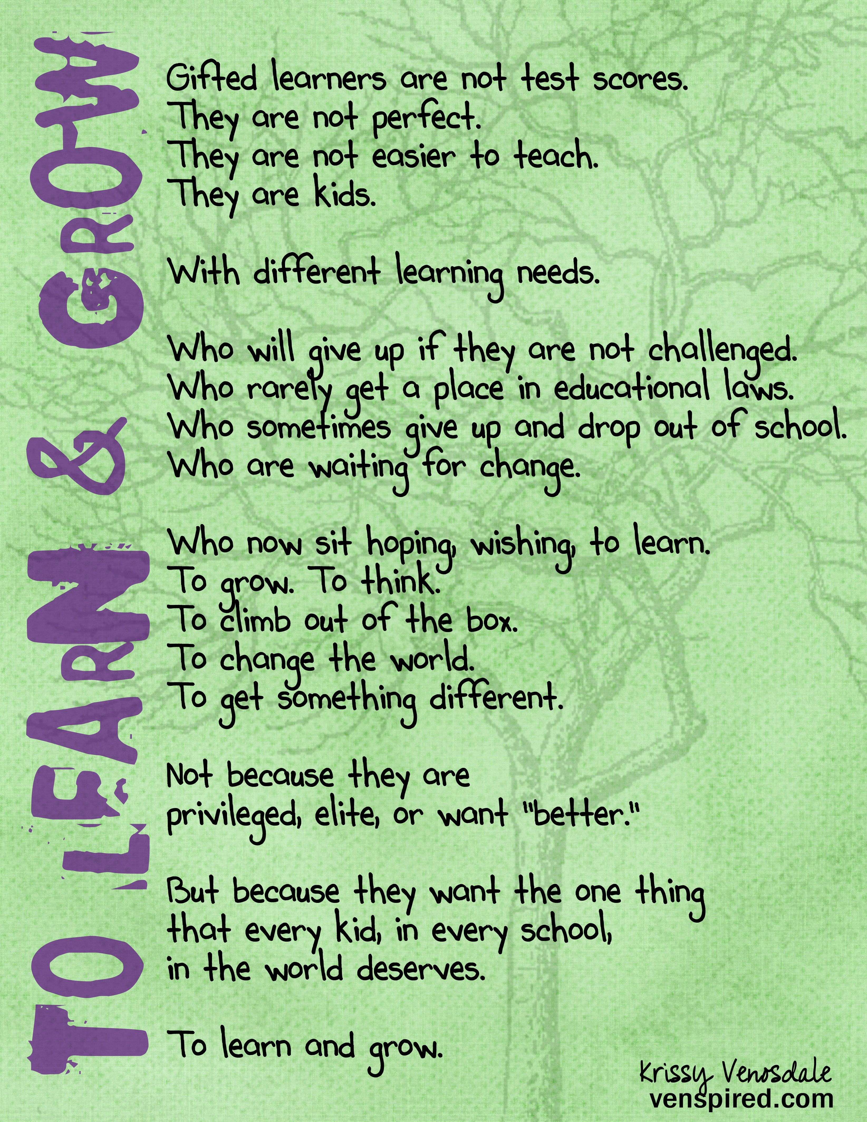 Pin By Heidi Danae On Gifted Info Teaching Motivation Teaching Gifted Children Counseling Teacher