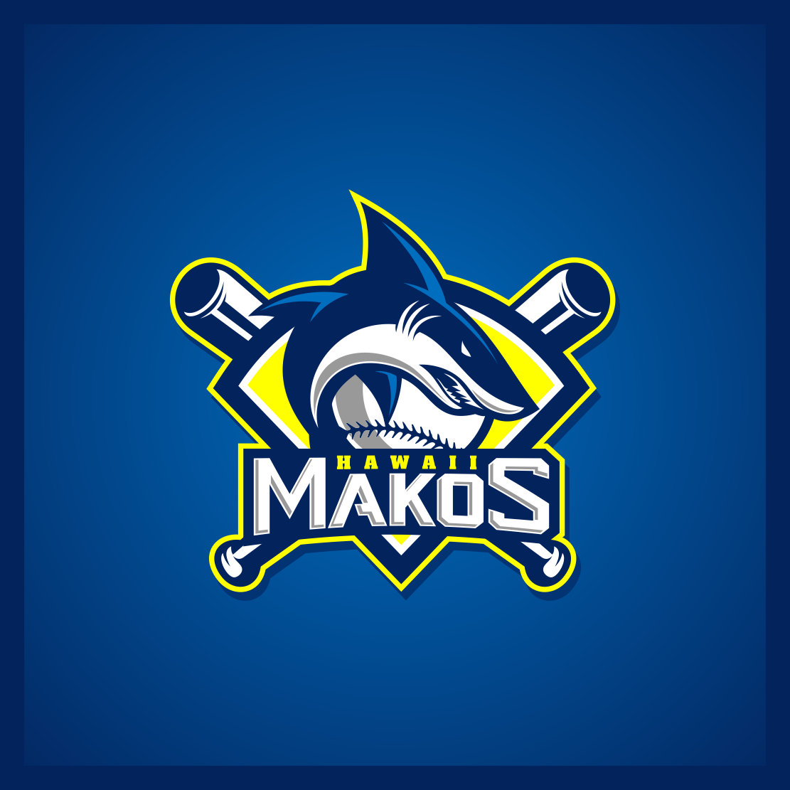 Mako's Hawaii Logo | Logo Ideas & Inspiration | Sports logo