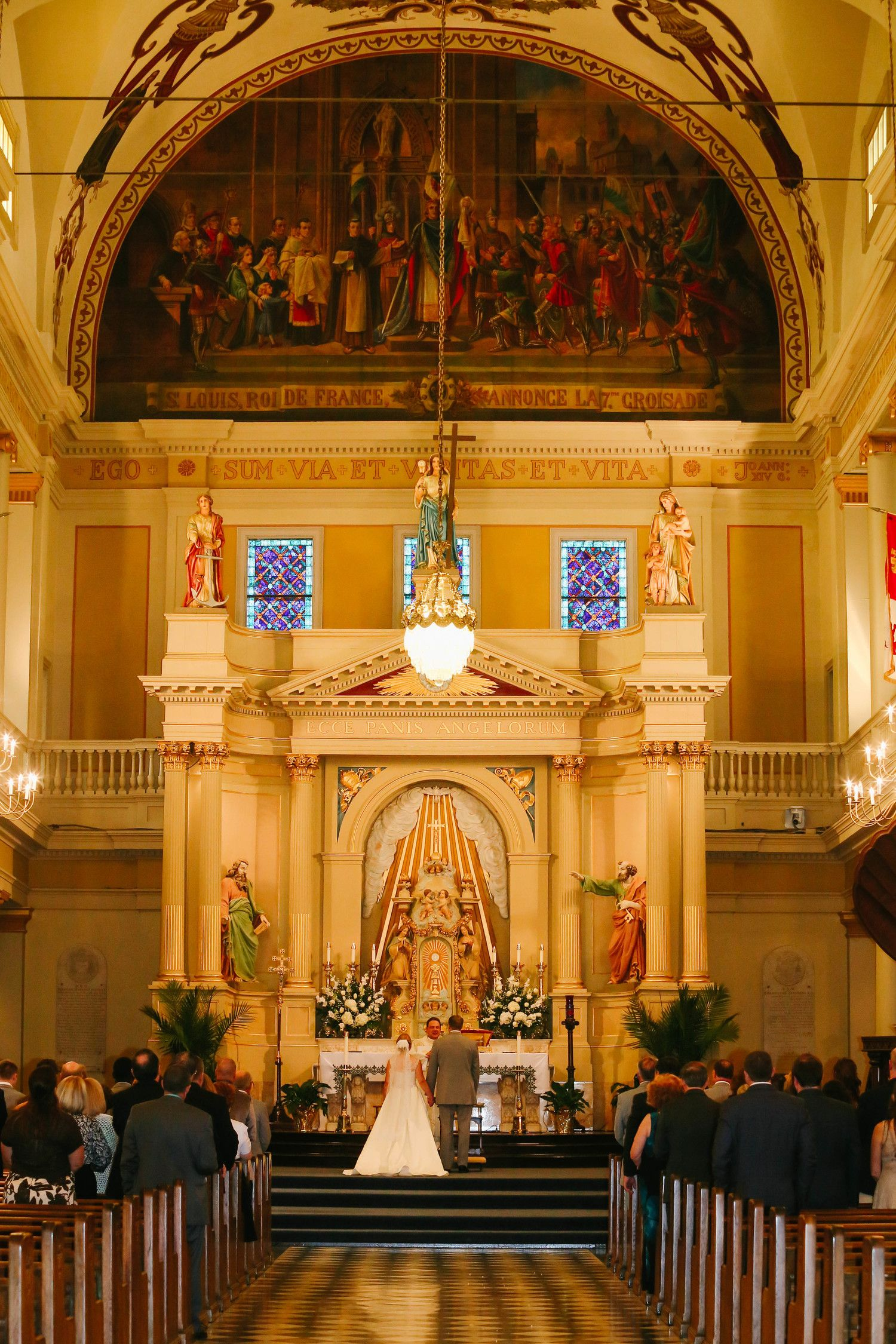 Featured weddings st louis cathedral cathedral wedding