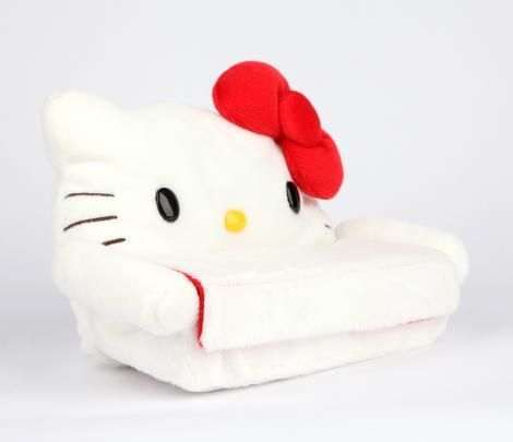 Hello Kitty Glasses Stand & Case: Softy