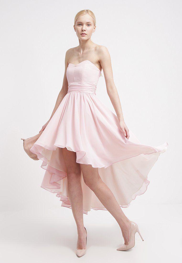 Moderne Eleganz mit dem gewissen Etwas. Swing Ballkleid - hellrosa ...