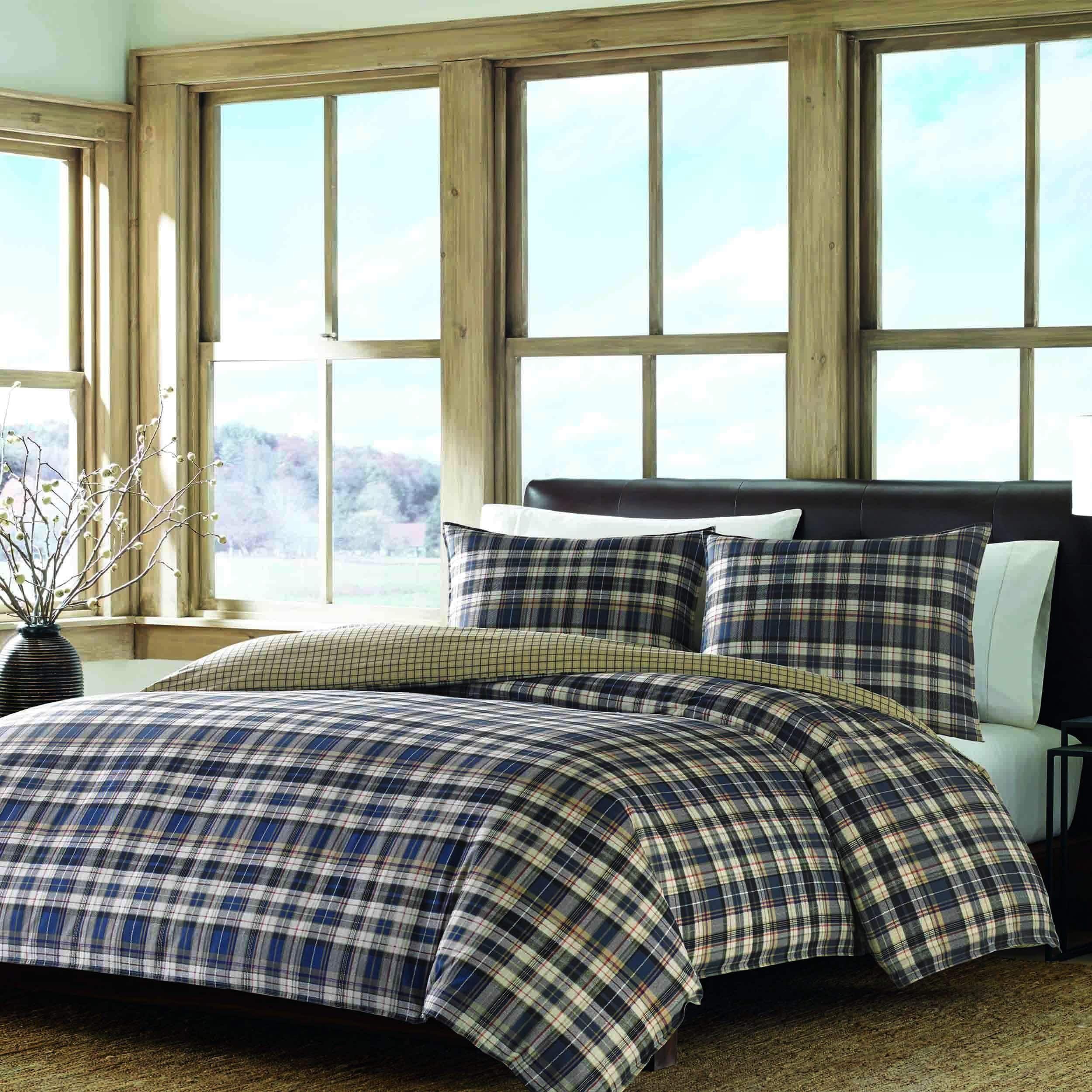 Eddie Bauer 3piece Comforter Set (Blue/Multi Queen/Full