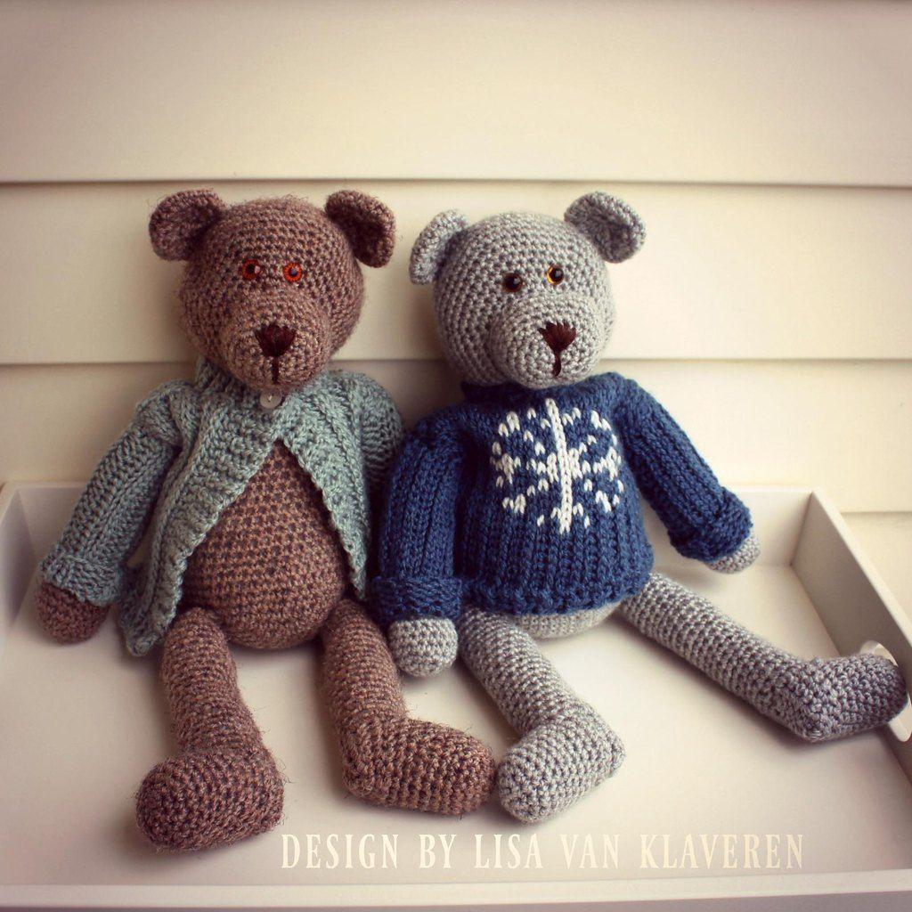 bear toy knitting pattern 99p