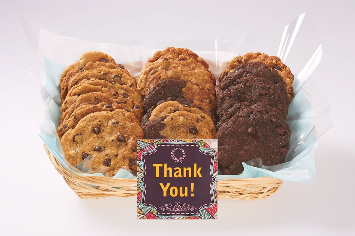 Thank You Gift Basket Cookie gift baskets, Cookie gifts