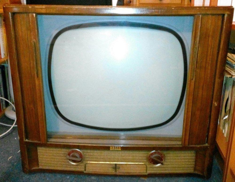 Vintage Decca DM22C valve television | Televisions, Television set ...