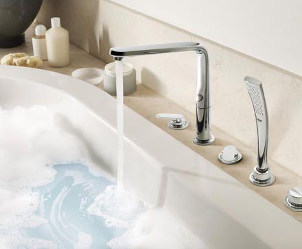 Luxe Grohe Ondus Veris inbouw badrandcombinatie #badkamerwinkel