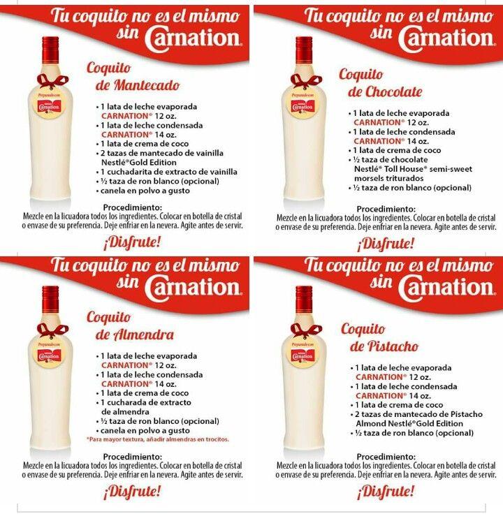 Carnation Coquito