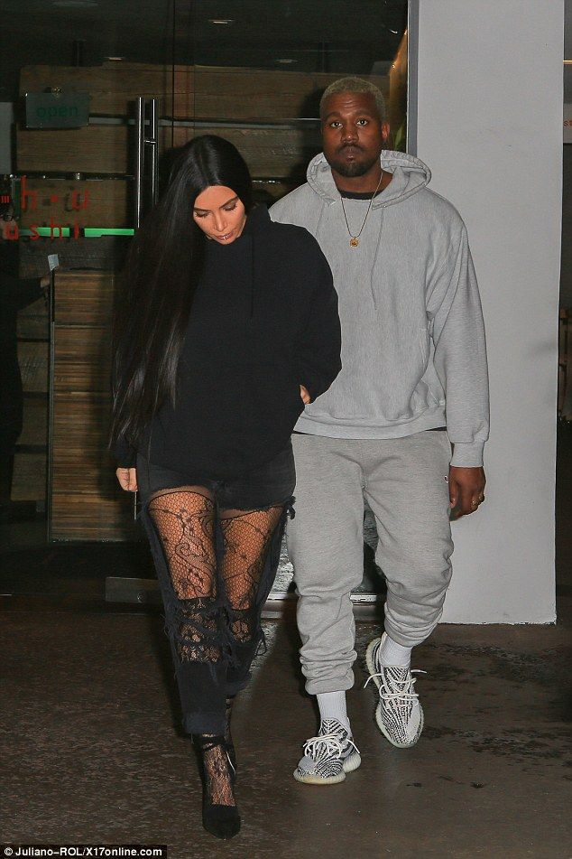 1e35fd935fa8 Kim Kardashian and Kanye West continue their show of unity