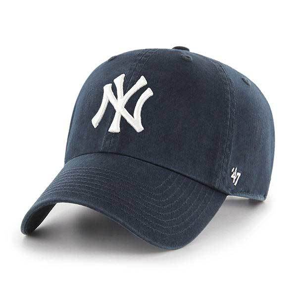 New York Yankees Adjustable Clean Up Hat By 47 Yankees Baseball Cap Wash Baseball Cap Sports Baseball Caps