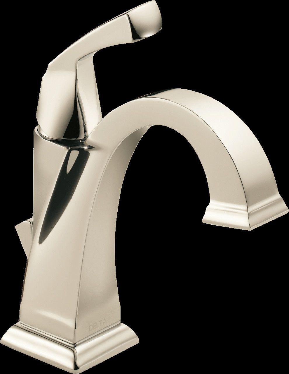 Dryden Single Hole Bathroom Faucet With Diamond Seal
