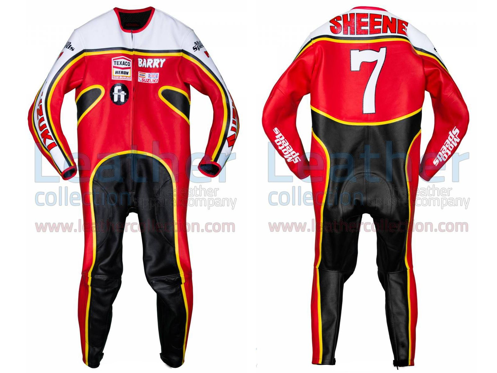 Barry Sheene Suzuki GP 1976 Leathers  https://www.leathercollection.com/en-we/barry-sheene-suzuki-gp-1976-leathers.html  #Barry_Sheene_Leathers, #Barry_Sheene_Suzuki_GP_1976_Leathers, #Suzuki_Leathers