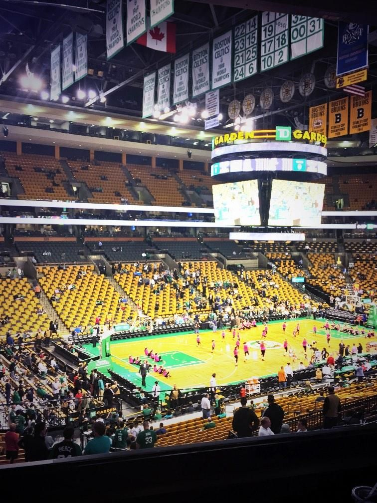 Boston Celtics Game At The Td Garden In Boston Massachusetts Boston Celtics Td Garden Places To Visit