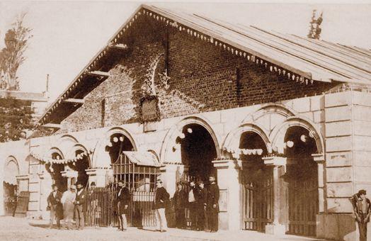 Tünel'in açılışı 17 Ocak 1875