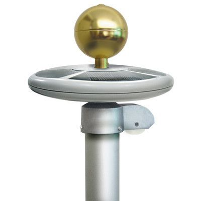 Annin flagmakers solar flagpole light solar and lights annin flagmakers solar flagpole light mozeypictures Image collections
