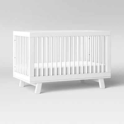 Babyletto Hudson 3 In 1 Convertible Crib With Toddler Rail In 2020