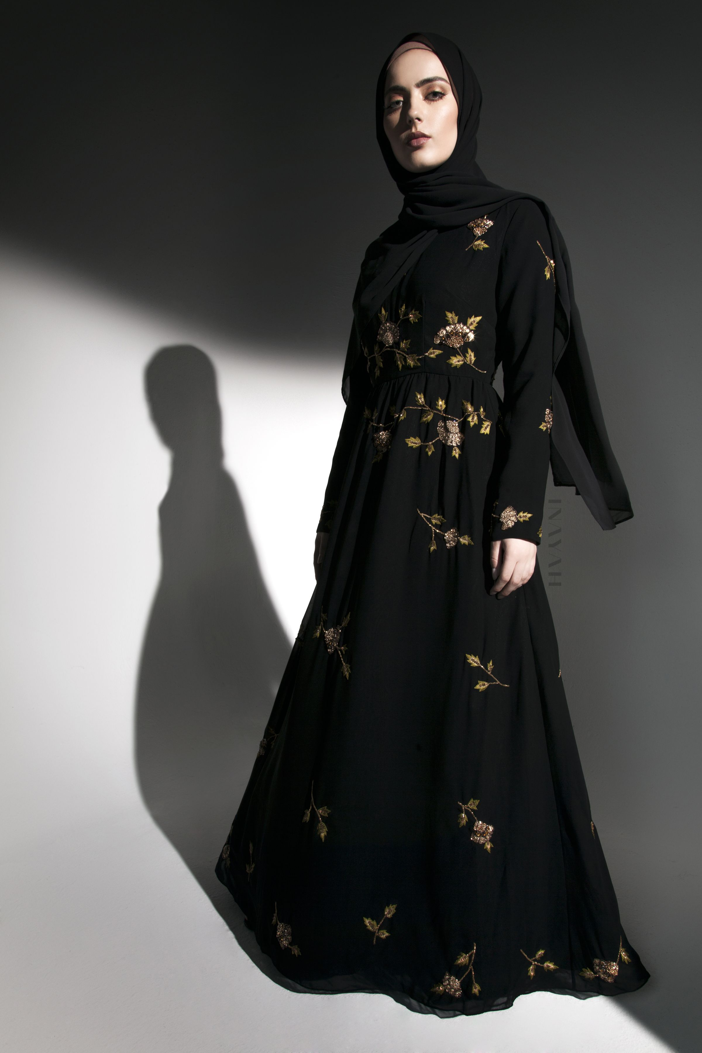 INAYAH | Fully embroidered maxi gowns crafted in floral motifs - now ...