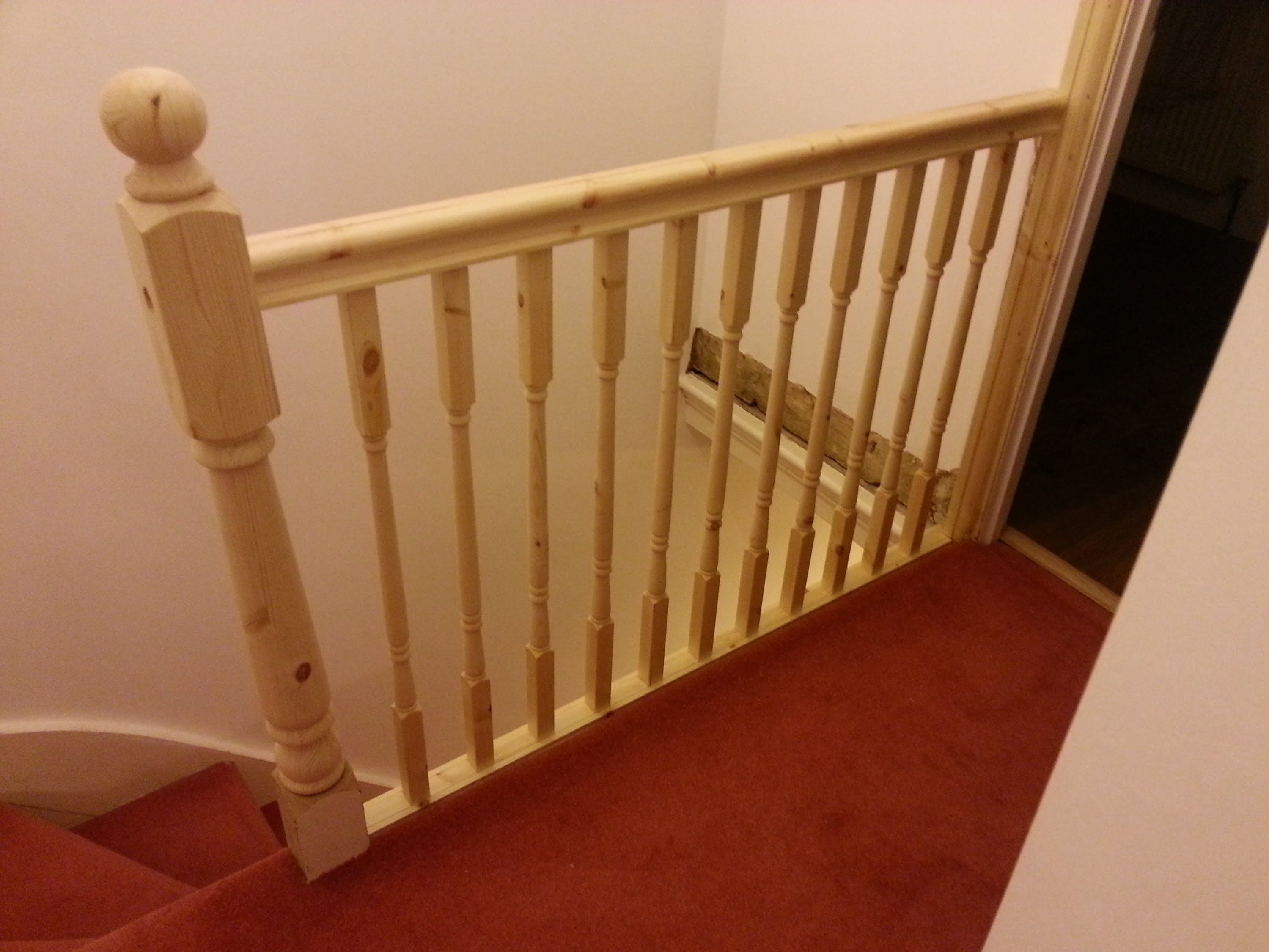 How To Replace Banister Newel Post Handrail And Spindles On A