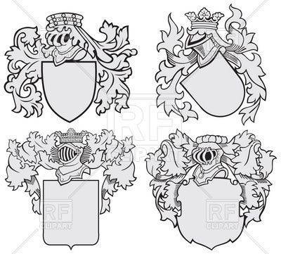Heraldic Elements  Coats Of Arms Templates  Download