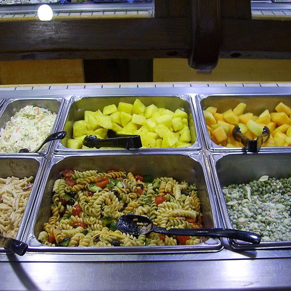 Lunch Express Buffet Salads At Shoneys Youre Very Richmond The