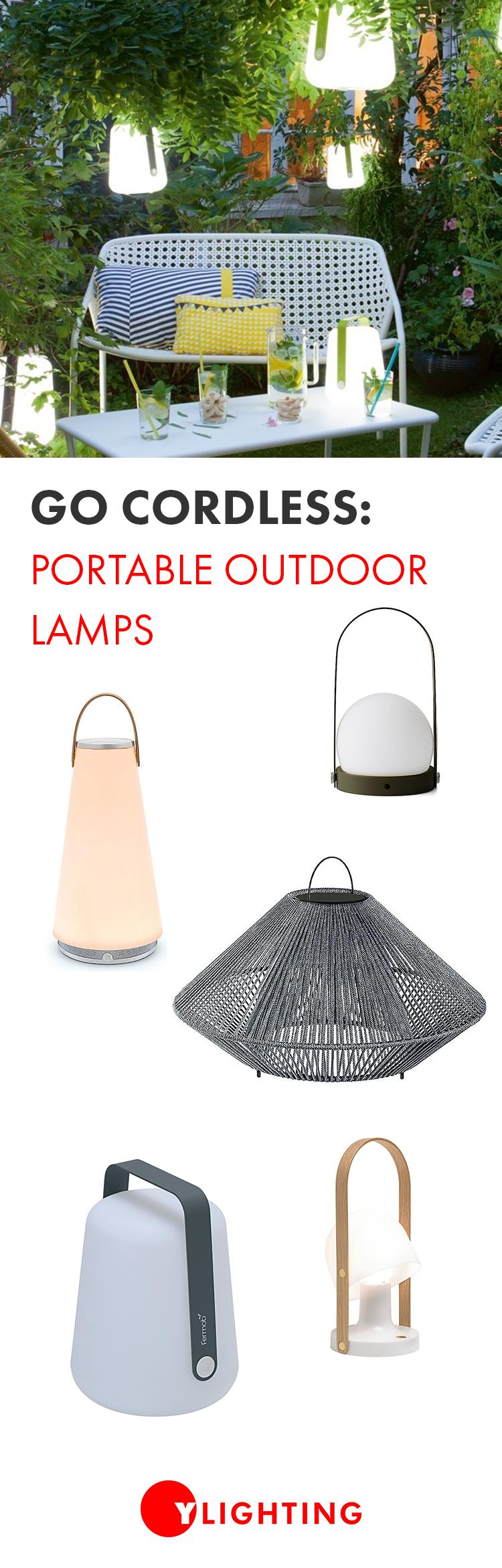 Go Cordless Portable Outdoor Lamps Ylighting Ideas Contemporary Outdoor Lighting Modern Outdoor Lighting Modern Outdoor Lighting Fixtures