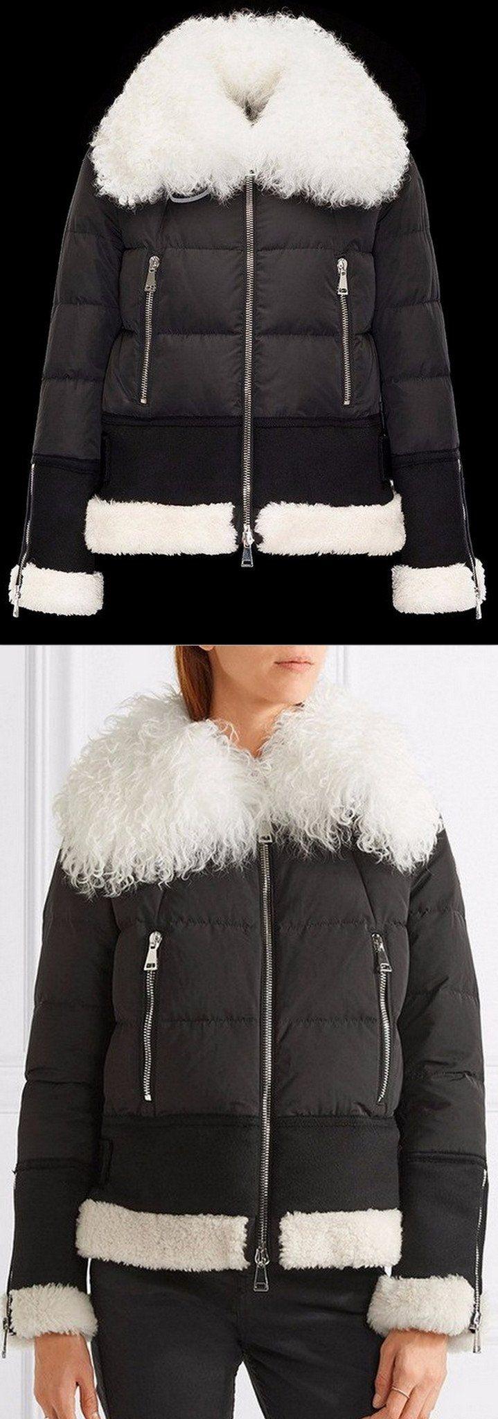 'Kikilya' Fur Trim Puffer Down Jacket