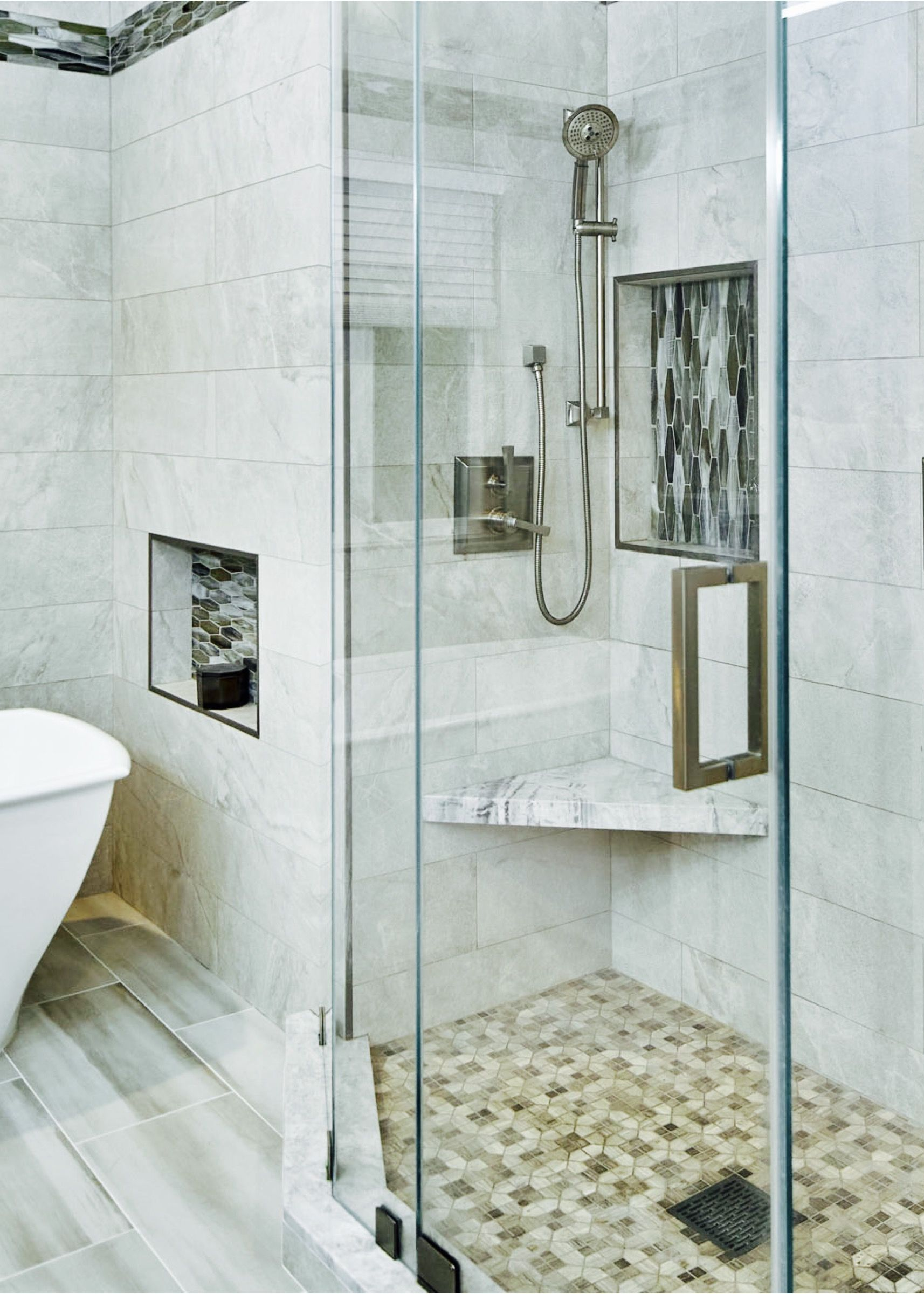 It S Clear To See That This Shower Is Full Of Elevated Style