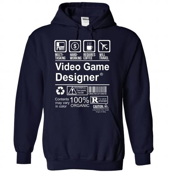 Cool And Awesome Best Seller  Video Game Designer Shirt Hoodie