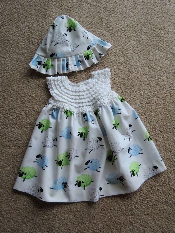 33403b7a7 Easy Crochet Baby Dress