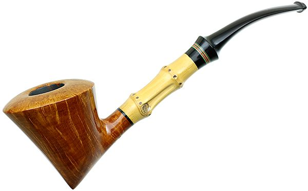 Satou Smooth Bent Dublin with Bamboo and Tsuishu