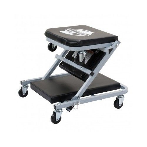 Folding Creeper Seat Z Rolling Stool 36  Mechanic Cart Workshop Garage Tools #MechanicCreeperSeat  sc 1 st  Pinterest & Technician Creeper Seat Craftsman 40