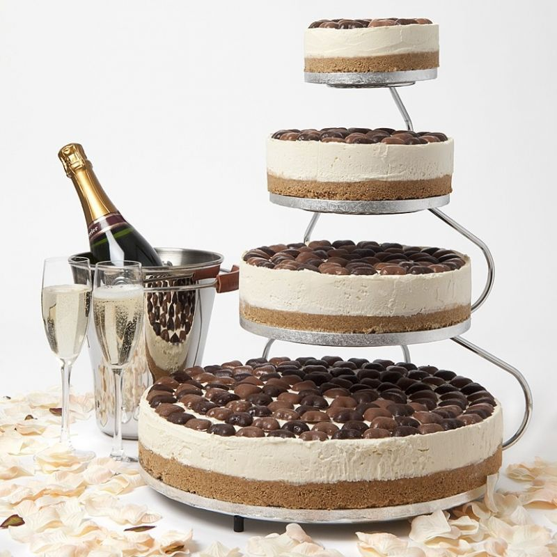 5 tiered cheese wedding cake cheesecake like the tiered presentation without being 10456
