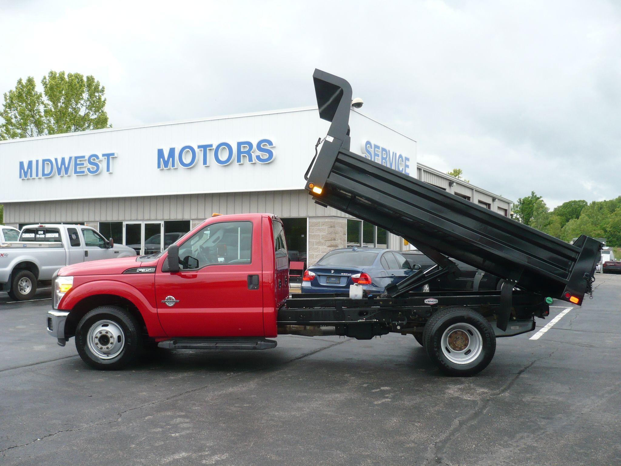 CM DB dump bedMidwest Motorseureka mo Truck bed