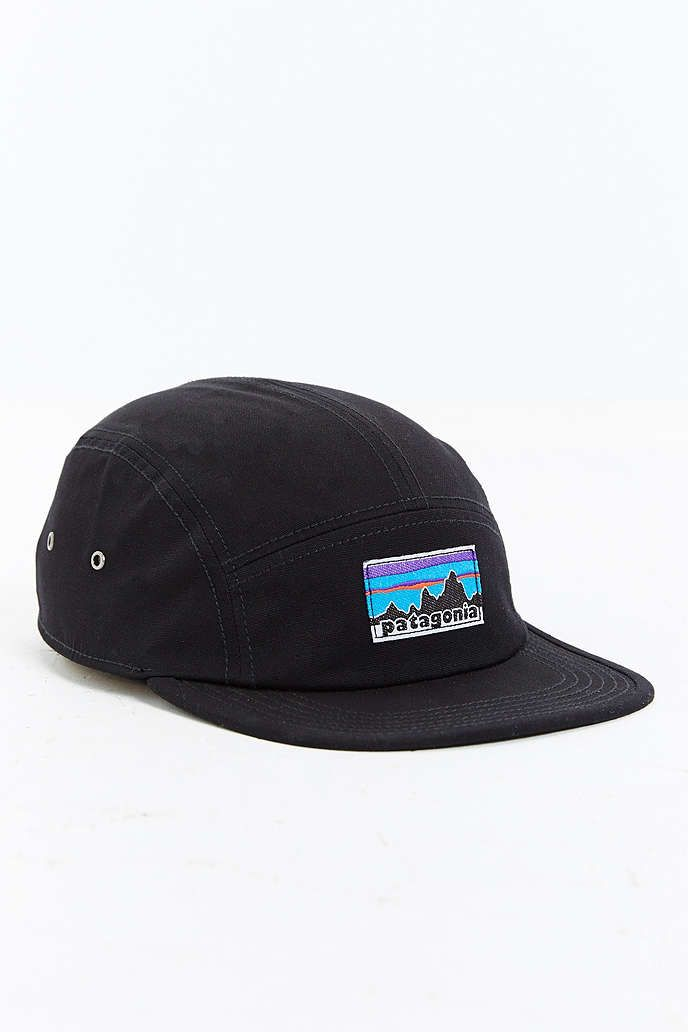 d6ad55e9370ab7 Patagonia Retro Fitz Roy Label 5-Panel Baseball Hat - Urban Outfitters