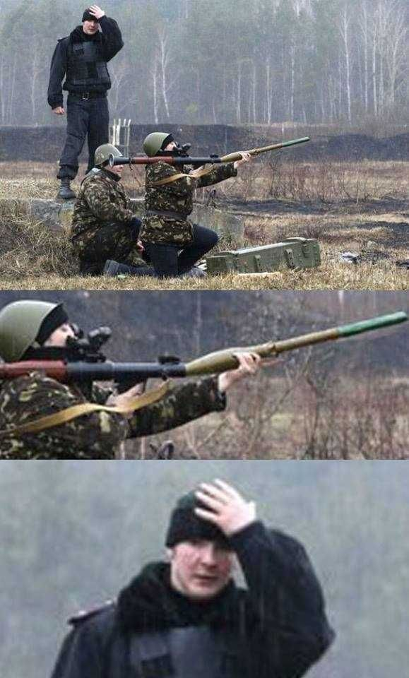 Apparently, yes, you can be too stupid to operate a Russian RPG