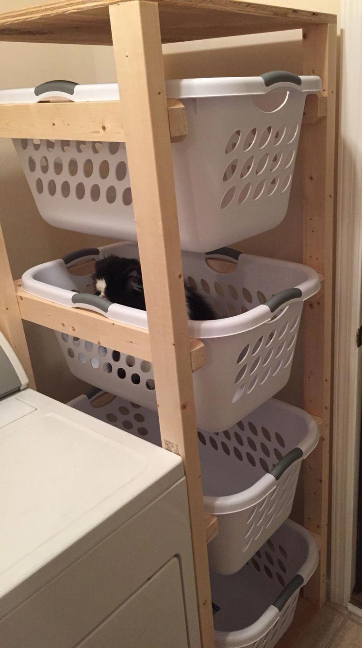 """Photo of Auf unserer Website finden Sie weitere Informationen zu """"DIY-Schränken zur Aufbewahrung von Waschküchen"""". Es ist ein g …, #CABINE …"""