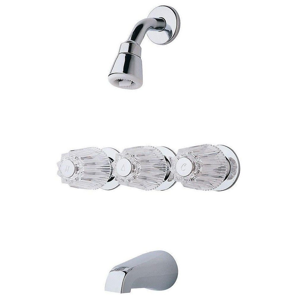Pfister Lg01 3120 Pfirst Series Tub And Shower Trim Package With