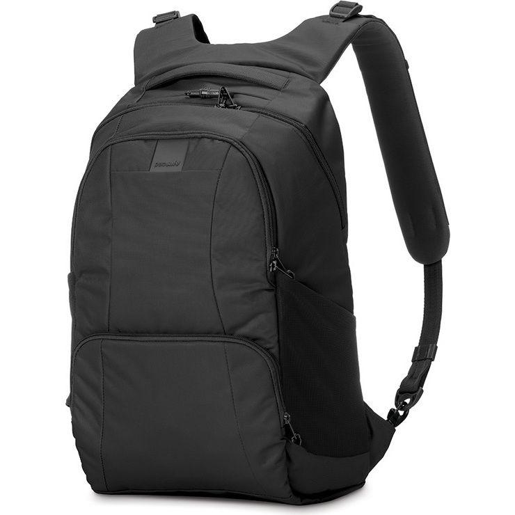Pacsafe Metrosafe Laptop Backpack in Black 25L | Buy Laptop Cases & Bags